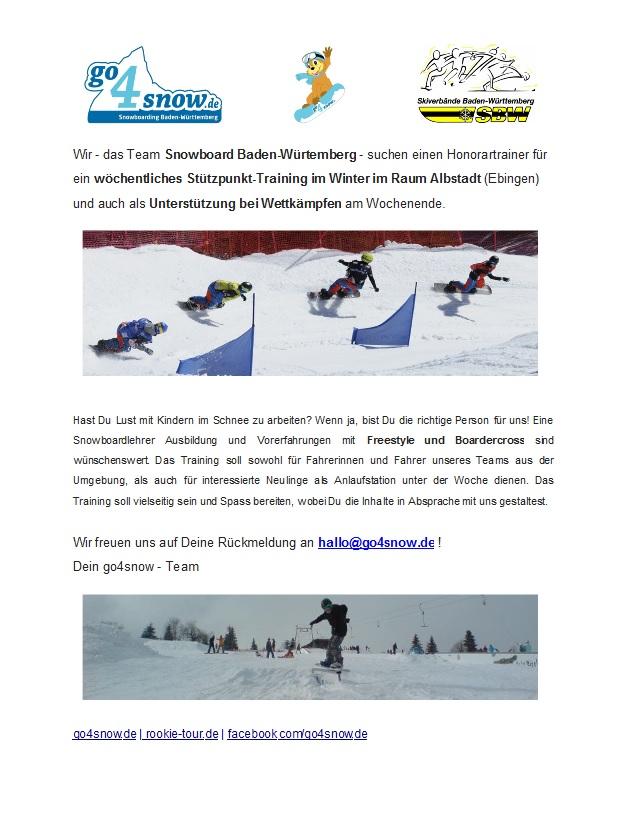 Snowboard Trainer Albstadt
